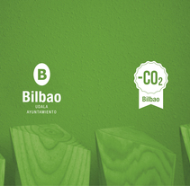 Bilbao Huella de Carbono. A Br, ing, Identit, Graphic Design, and Product Design project by DMcreatividad          - 23.02.2015