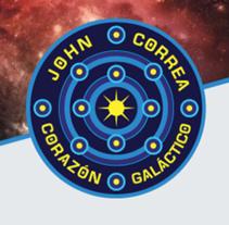 JHON CORREA CORAZÓN GALÁCTICO. A Br, ing&Identit project by Diego Fernando Prieto Rodriguez         - 17.11.2014