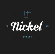 UT Nickel Script. A T, and pograph project by Wete  - 02.24.2015