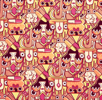 Pattern LSD. A Illustration, and Editorial Design project by Juan Díaz-Faes - 02-03-2015
