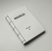 HOUSE(S) Fanzine para WAÏF. A Design, Editorial Design, and Graphic Design project by Fábrica de Texturas         - 04.12.2014