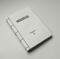 HOUSE(S) Fanzine para WAÏF. A Design, Editorial Design, and Graphic Design project by Fábrica de Texturas  - 04-12-2014