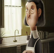 Calladitas. A Illustration, and Character Design project by Marta García Pérez         - 03.03.2015