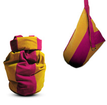 "Mochila ""Enano saltarín"". A Design, Accessor, Design, Fashion, Industrial Design, Product Design, and Shoe Design project by Cristina Guillén         - 04.03.2015"