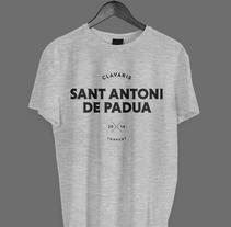 Clavaris Sant Antoni de Padua 2014. Um projeto de Br, ing e Identidade, Design editorial e Design gráfico de Adrián Herreros         - 04.01.2014