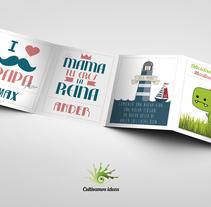 birthday. Um projeto de Design gráfico de Patricia Huerta Ponce         - 05.03.2015