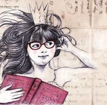 Manual/digital. A Illustration project by Concha Martínez Pasamar         - 06.03.2015