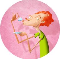 Sorbito. Um projeto de Ilustração e Design de personagens de Agustín García barcia         - 07.03.2015
