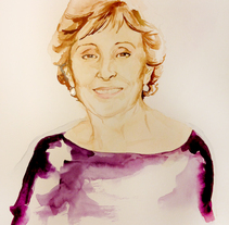 Retrato. A Fine Art, and Painting project by Cristina DM Marín         - 07.03.2015