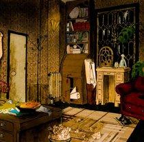 """Concept Art para el corto """"Prodigioso"""". Un proyecto de Ilustración y Bellas Artes de Cristina DM Marín         - 07.03.2015"""
