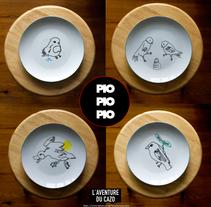 PIO, PIO, PIO. Um projeto de Ilustração de Miguel Ángel Rodríguez Rodrigo - 08-03-2015