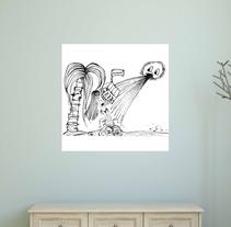 FUERA NEGATIVIDAD. Un proyecto de Diseño, Ilustración, Bellas Artes, Diseño de interiores, Diseño de producto y Comic de donata margiotta         - 08.03.2015