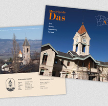 Ajuntament de Das. Un proyecto de Diseño, Fotografía, Diseño editorial y Diseño de la información de José Ramón Viza         - 09.03.2015
