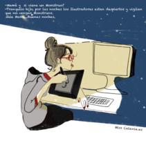 Lo Ilustradores son los nuevos Heroes. Um projeto de Design, Ilustração e Animação de Clara Morales de Paz         - 10.03.2015
