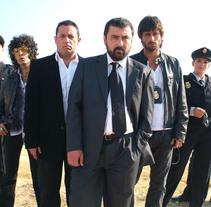 Prueba con personajes de Los hombres de Paco. A TV project by Raquel Márquez         - 10.03.2014