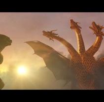 Godzilla 2 Trailer (Fan-Made). A Animation project by Fermi Vidal Soler         - 14.03.2015