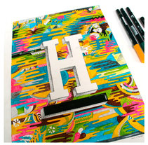 H. Um projeto de Design, Ilustração e Artes plásticas de Juanjo-se Peñalver         - 21.03.2015
