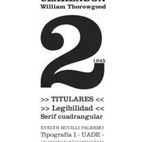 Investigación de Tipografía . Um projeto de Design gráfico e Tipografia de Evelyn Mucilli Palermo         - 22.03.2015