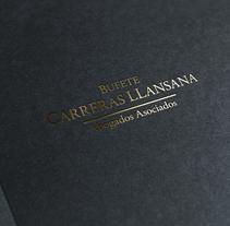 Bufete Carreras Llansana. Un proyecto de Diseño gráfico de btcom.          - 23.03.2015