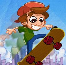 SKATERBOY TAP. Un proyecto de Dirección de arte, Diseño de personajes y Diseño de juegos de Jose Miguel Balbuena Heredia - 09-08-2014