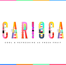 Carioca Font. A Design, Graphic Design, Illustration, T, and pograph project by Yai  Salinas - 03.25.2015