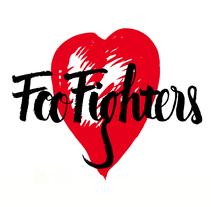 Foo Fighters para Caligrafía y Rock'n'Roll. Un proyecto de Dirección de arte, Diseño gráfico y Caligrafía de Bruna Zanella Monteiro - 02-04-2015