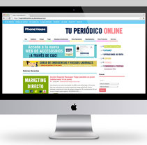 Comunicación Interna / Phone House. Um projeto de Web design e Desenvolvimento Web de Ana Recuero Sanz         - 06.04.2015