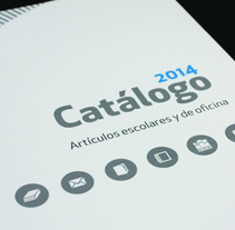 Catálogo Unipapel 2014. A Design, Illustration, and Editorial Design project by Gema Pérez Lomba - 08-04-2015