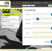 Fotorun. A Web Design, and Web Development project by Mariano Nadie         - 14.04.2012