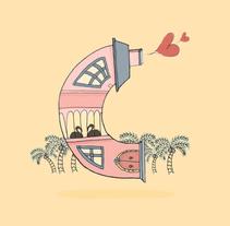 Ilustración C 36 days of type. Um projeto de Design e Ilustração de Esther HIJANO MUÑOZ - 14-04-2015