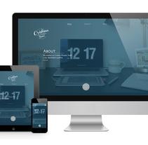 Mi Proyecto del curso Diseño web: Be Responsive!. Um projeto de Design, Br, ing e Identidade, Design gráfico e Web design de cristina_cas003         - 19.04.2015