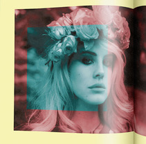 Doce04 Magazine - Lana del Rey. Um projeto de Design editorial e Artes plásticas de Ramón Albarrán         - 20.04.2015