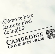 Cambridge University Press. A Art Direction, Cop, and writing project by Jesús  Ramos García-Elorz         - 23.04.2015