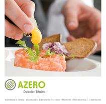 Dossier Técnico Azero. Un proyecto de Diseño, Publicidad y Marketing de Victor Alvarez Rodriguez         - 27.04.2015