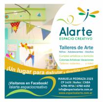 Alarte Espacio Creativo - Papelería - Mailing - Publicidad - Facebook. Un proyecto de Diseño gráfico de Erica Tourís Fresco - 31-01-2015