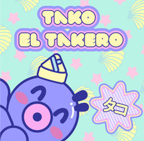 Tako el Takero . A Illustration, Graphic Design, To, and Design project by Hoshi         - 03.01.2015