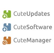 Cute Software. Um projeto de Desenvolvimento de software, Br, ing e Identidade, Design gráfico e Web design de Rafael Laguna         - 01.10.2014