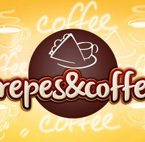 Crepes&Coffee. A Design, Graphic Design, and Product Design project by petswears         - 03.05.2015