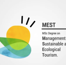 Vídeo #DIWF para MSc Degree on Management of Sustainable and Ecological Tourism. A Motion Graphics, Animation, Br, ing, Identit, and Video project by Muak Studio | Visual Communication Strategies  - 04-05-2015