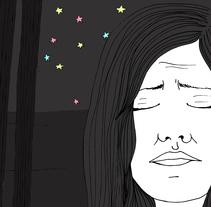 ¡Lugares oscuros! luego... pienso que no tengo miedo. Un proyecto de Ilustración de María Bravo Guisado         - 04.05.2015