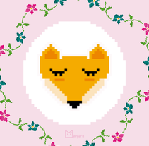 What the fox say.... A Design, Illustration, and Graphic Design project by Claudia Margarita Suárez Santos - 05-05-2015
