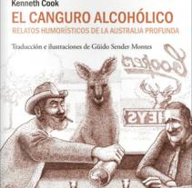 El canguro alcohólico. Um projeto de Ilustração de Guido Sender         - 05.05.2015