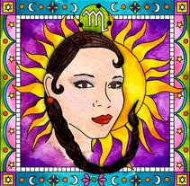 Acuarela sobre papel para diferente projectos de diseño. Um projeto de Ilustração e Design gráfico de Aniela Bermudez Moros         - 06.05.2015