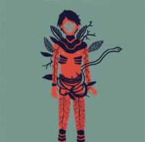 El señor de las moscas, William Golding. A Illustration, and Screen-printing project by Ina Hristova         - 12.05.2015
