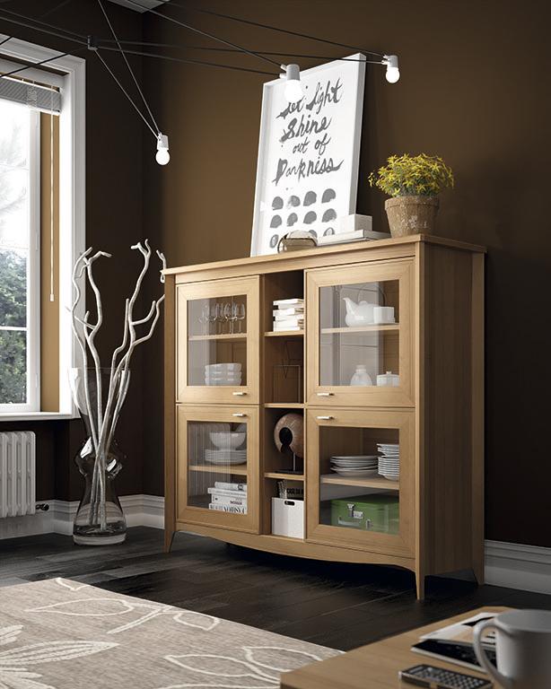 Tus muebles de sal n en madera maciza domestika for Muebles de salon de madera maciza