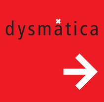Dysmática. Creación y desarrollo de identidad corporativa. Um projeto de Br, ing e Identidade e Design gráfico de Jorge Ortuño          - 11.05.2015