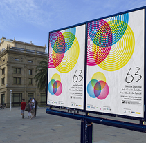 Festival de cine de San Sebastián - Zinemaldia. Um projeto de Design gráfico de Natalia Platero Roncero         - 23.03.2015