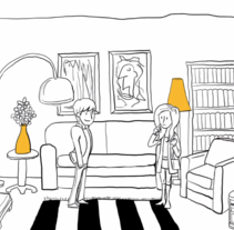 Video de animación para la empresa SIMPLEBOX. Um projeto de Design, Motion Graphics, Cinema, Vídeo e TV, Animação, Direção de arte, Br, ing e Identidade, Design de personagens, Artes plásticas, História em quadrinhos e Vídeo de Pedro Moleón Casaos         - 14.12.2014