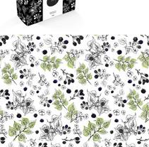 Wild Berry Soap - Packaging para jabón artesanal con motivos en tinta china y acuarela. A Br, ing, Identit, Graphic Design, and Packaging project by María R. Santos         - 21.05.2015