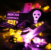 Mucha Lampara. Custom.. A Br, ing, Identit, Crafts, Interior Architecture, Interior Design, and Lighting Design project by Camila Bernal         - 21.04.2015